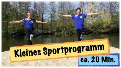 Kleines Sportprogramm ca. 20 Min. No Equipment