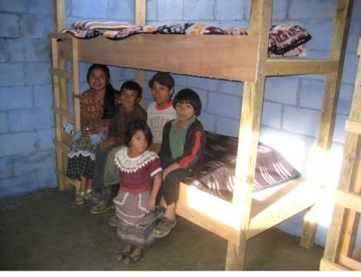 Familie in Guatemala