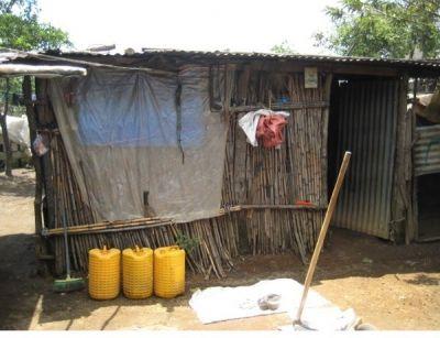 Hütte in Guatemala