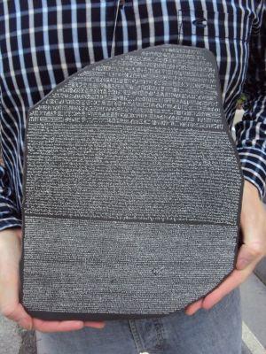 Stein von Rosette (M. Glufke)
