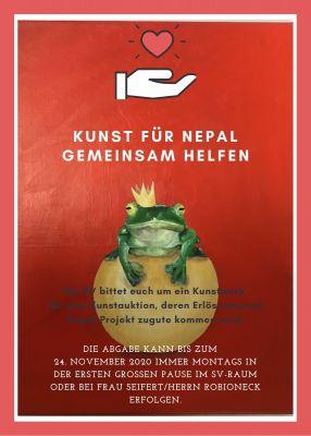 Kunst für Nepal